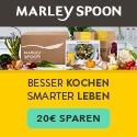Marley Spoon - Logo mit Voucher