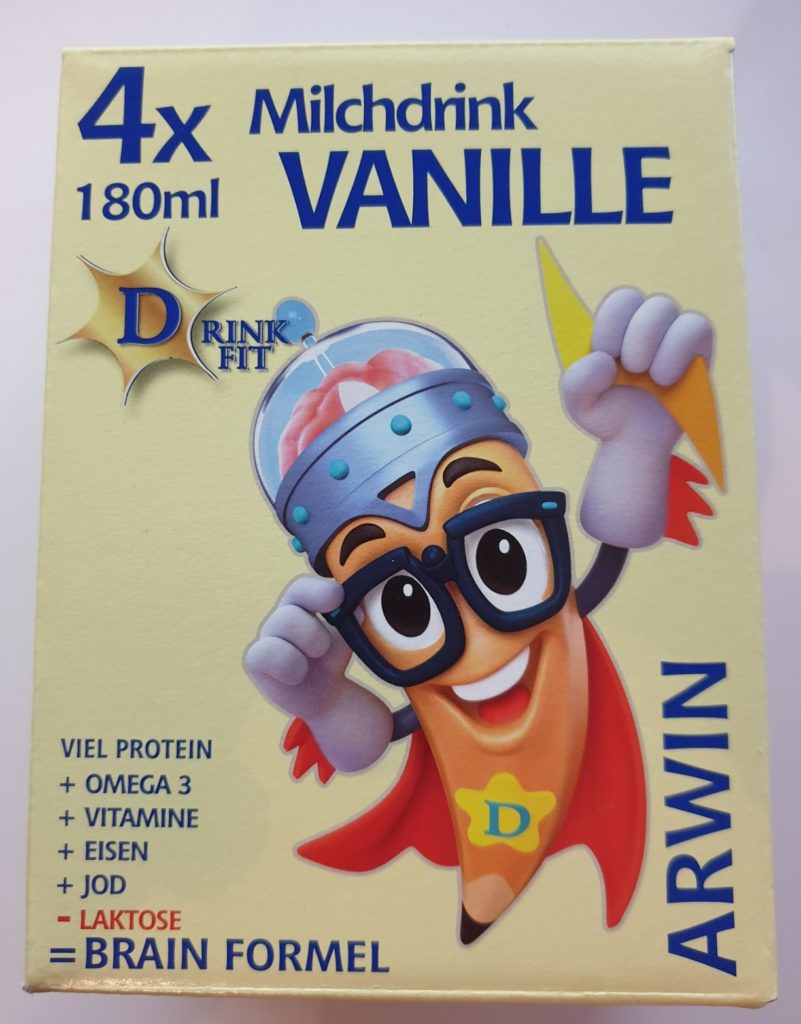 DrinkFit Brainbox Vanille