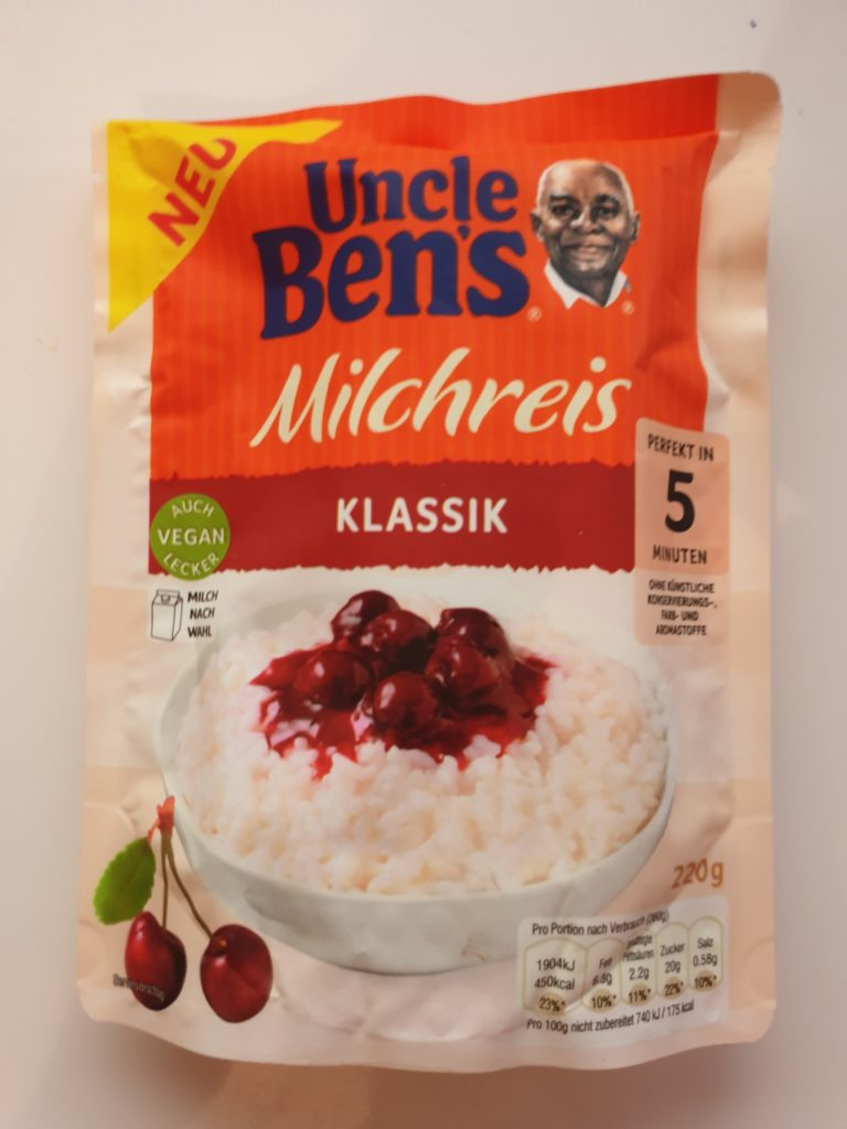 Uncle Bens Express Milchreis