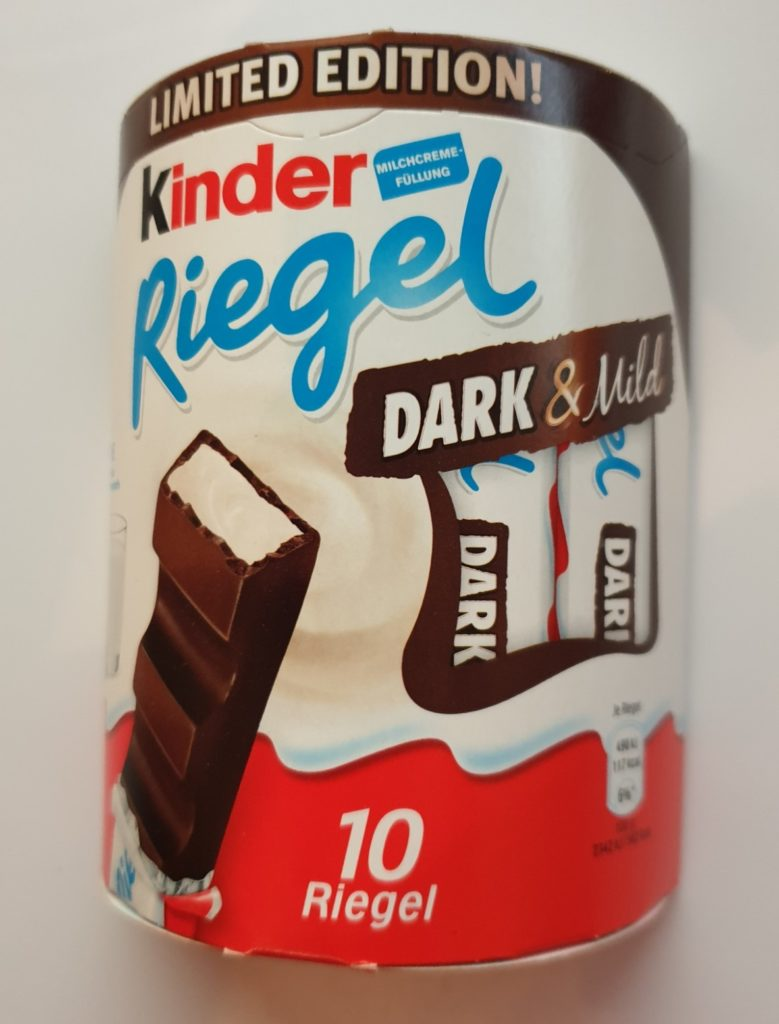kinder Riegel dark mild