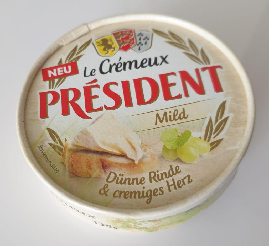 President Le Cremeux Mild - 135 g - UVP 1,99 €