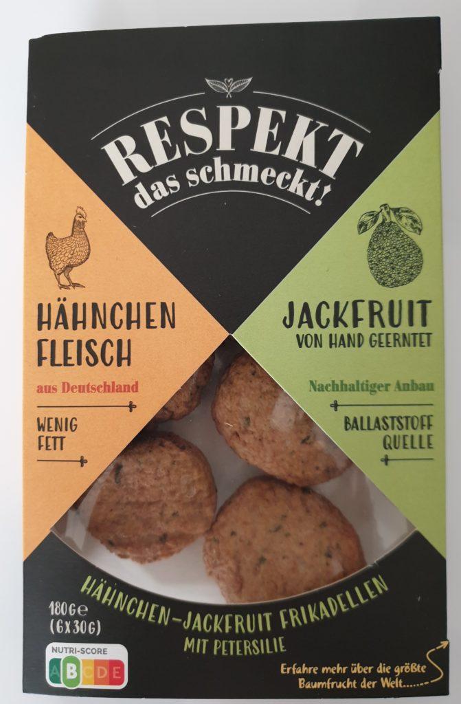Respekt das schmeckt - Hähnchen Jackfruit Frikadelle - 180 g - UVP 2,79 €