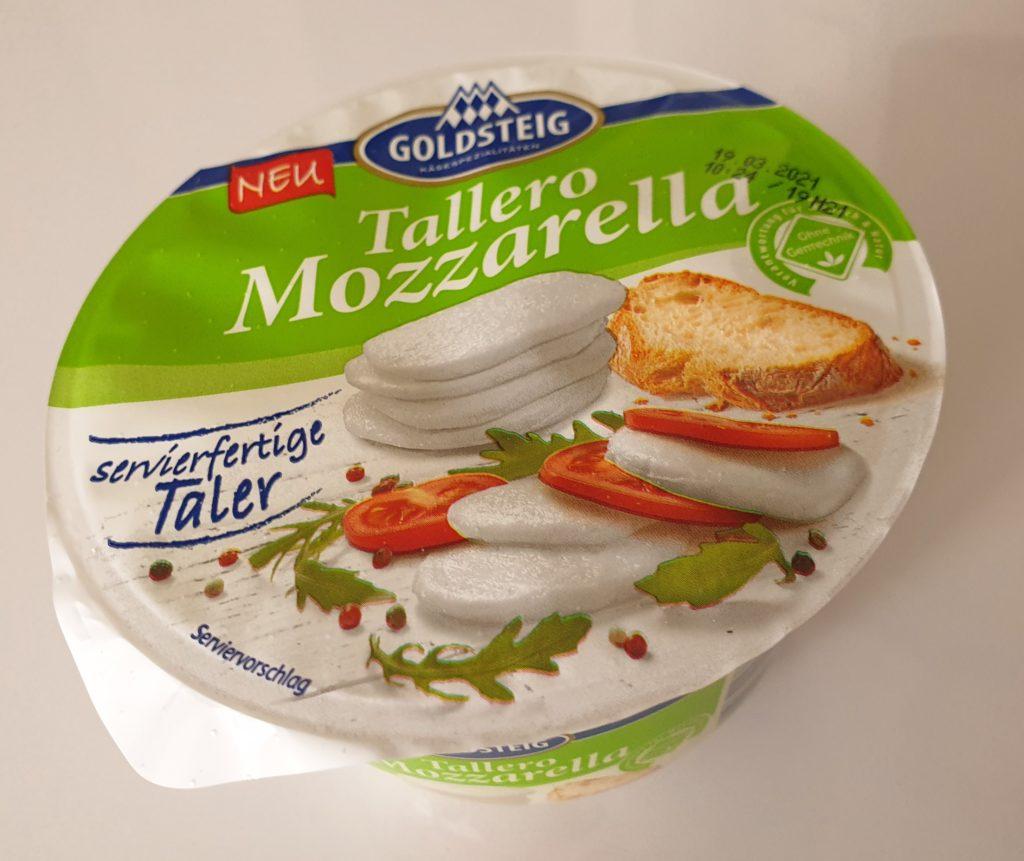 Tallero Mozzarella - 105 g - UVP 1,29 €