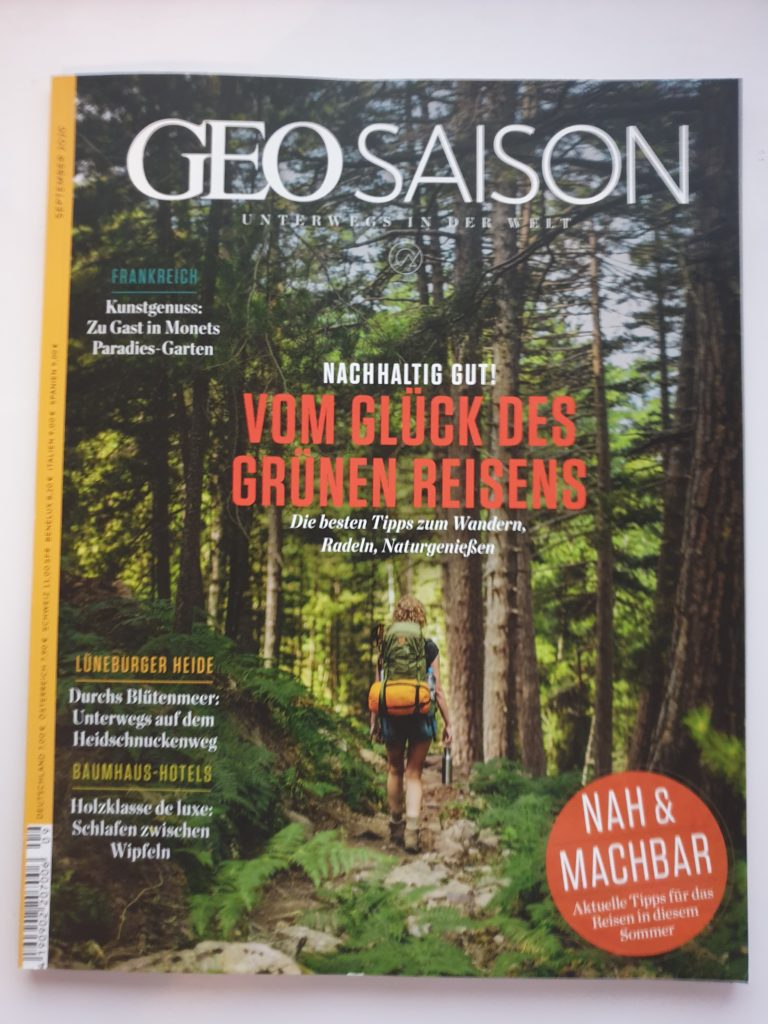 Zeitschrift GEO Saison - 7,00 €