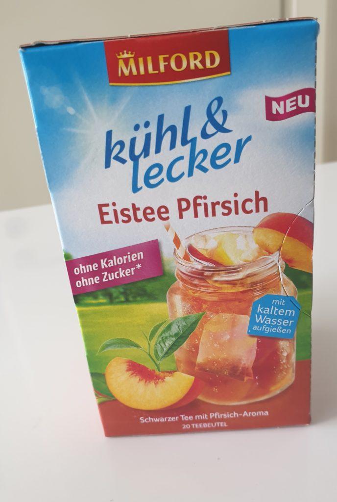 Milford kühl und lecker Eistee Pfirsich - 20 Beutel - UVP 2,59 €