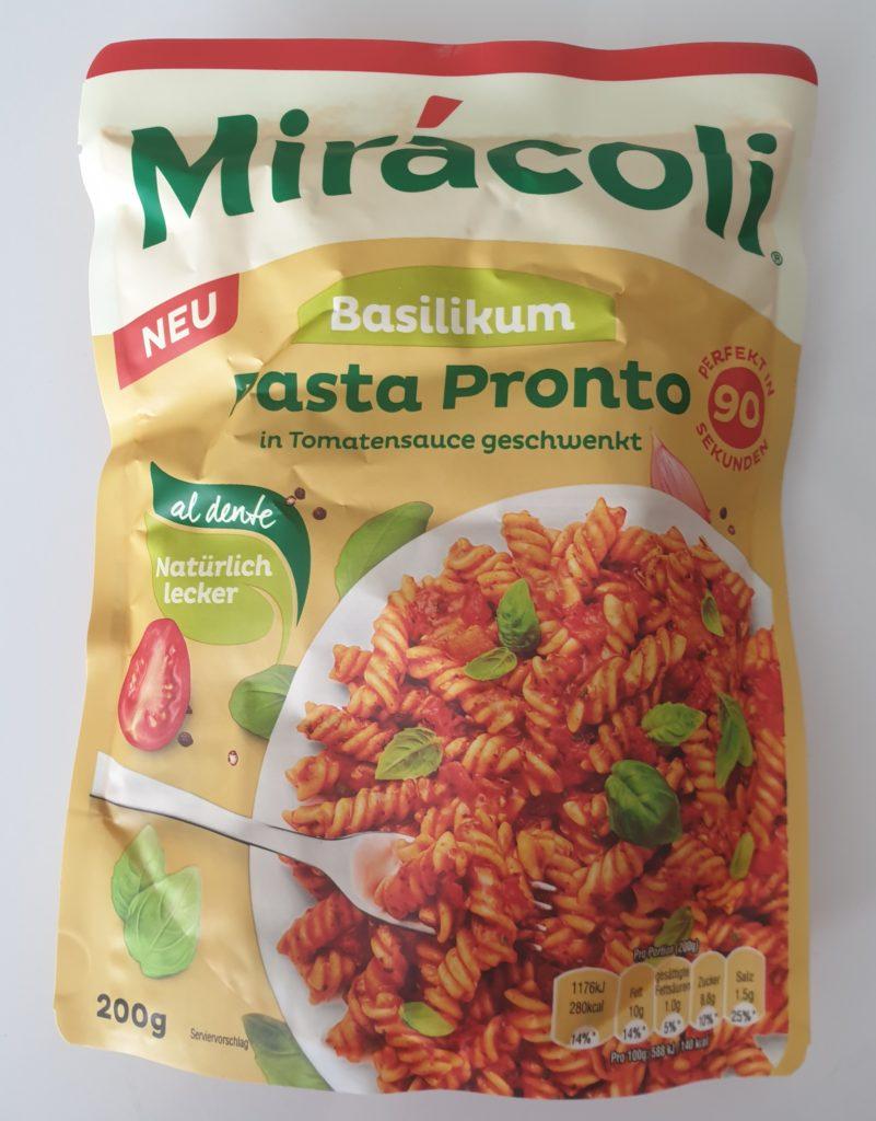 Miracoli Pasta Pronto Basilikum - 200 g - UVP 1,99 €