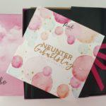 Pink Box 9. Geburtstag April 2021 – das ist drin