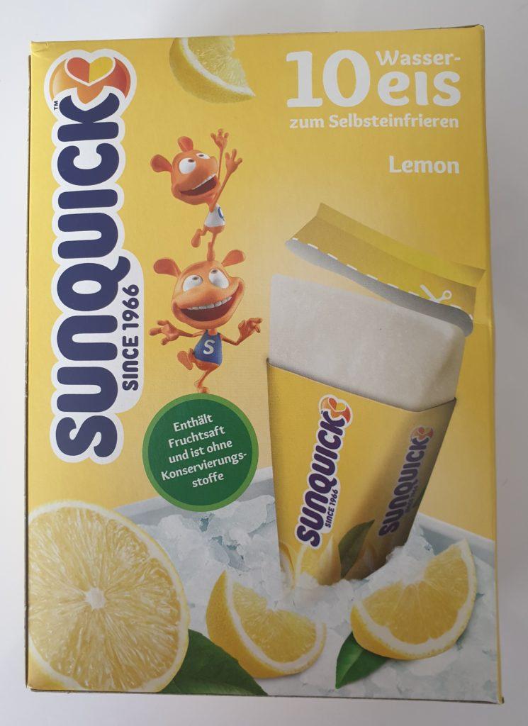 Sunquick Wassereis - 10 x 60 ml - UVP 2,49 €