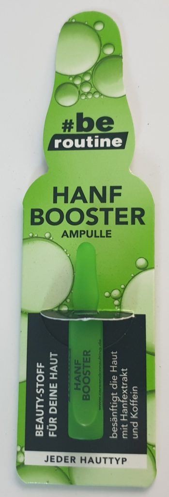 Be Routine Hanf Booster Ampulle - 2 ml - 0,95 €