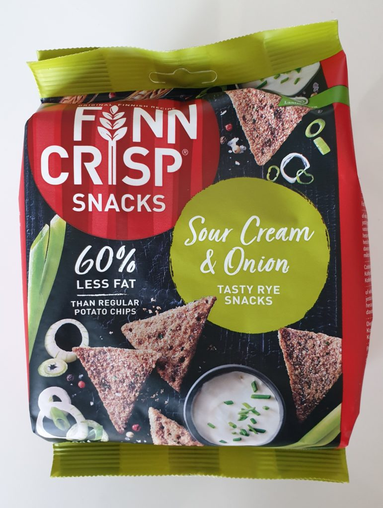 FINN CRISP Snack Sour Cream & Onion