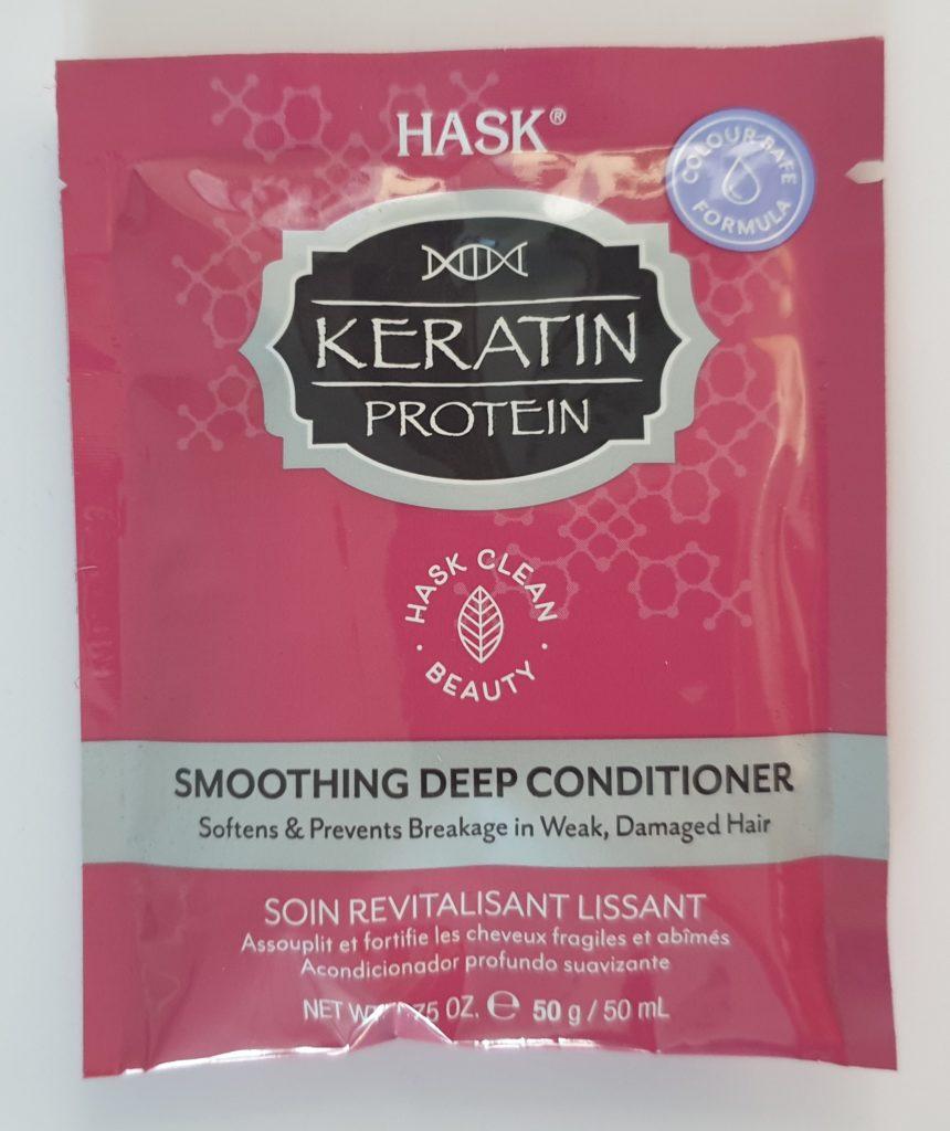 Hask Keratin Protein Deep Conditioner - 50 ml - UVP 2,75 €