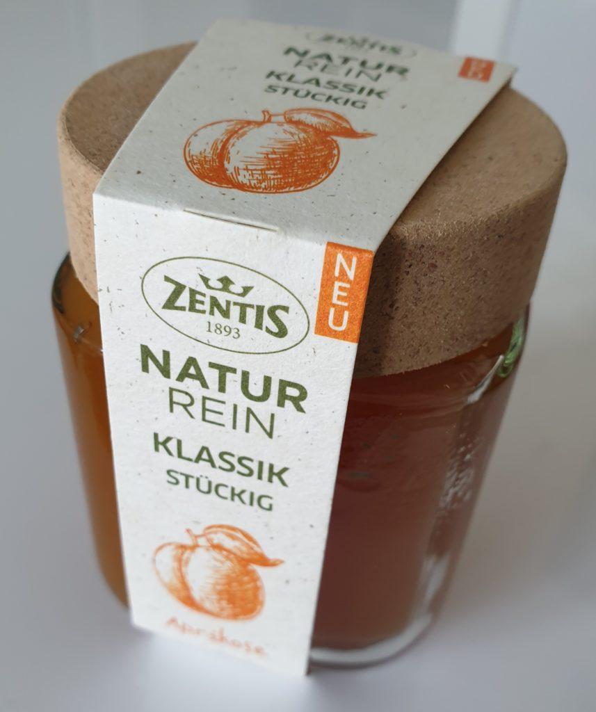 Zentis NaturRein Fruchtaufstrich Aprikose - 250 g - UVP 2,59 €