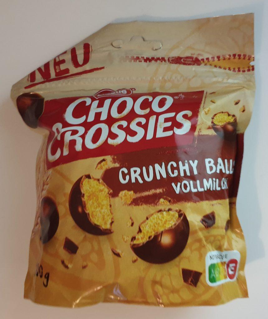 Choco Crossies Crunchy Balls - 200 g - UVP 2,99 €