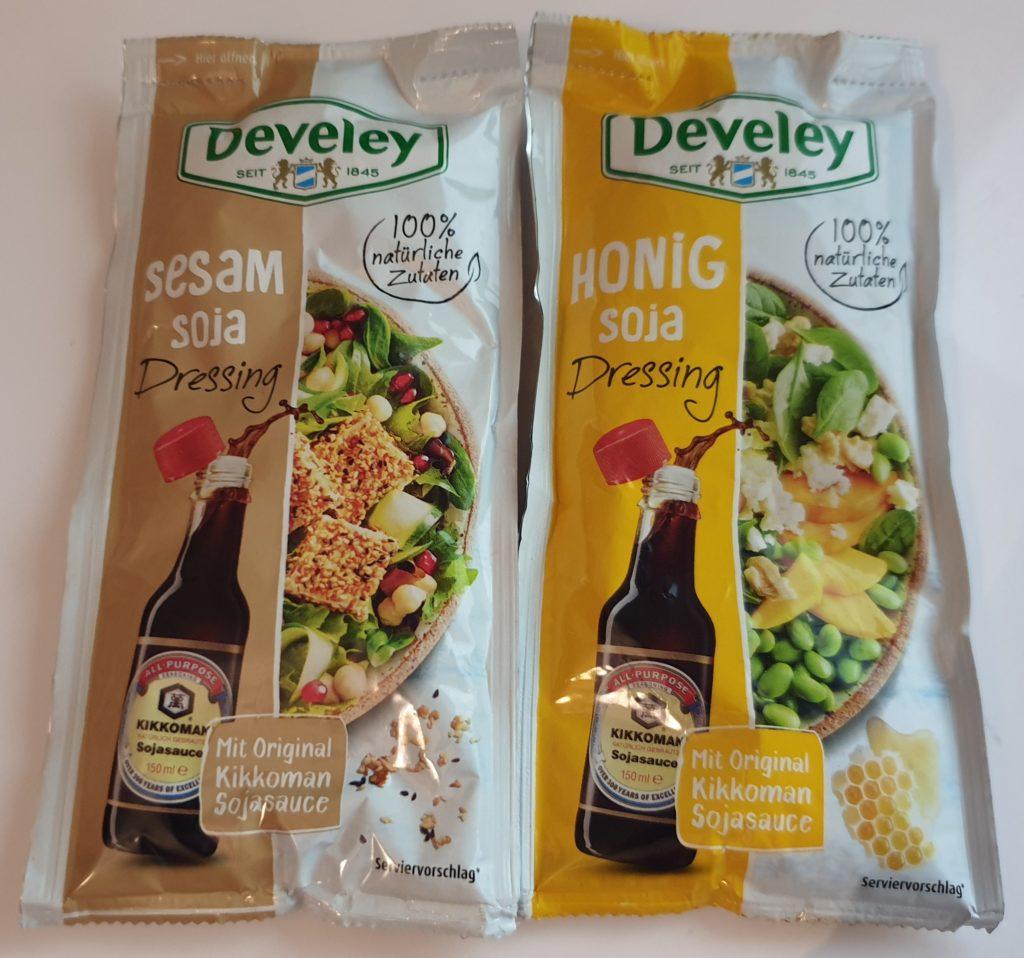 Develey Dressing Honig-Soja - Sesam Soja - 75 ml - UVP 0,79 €