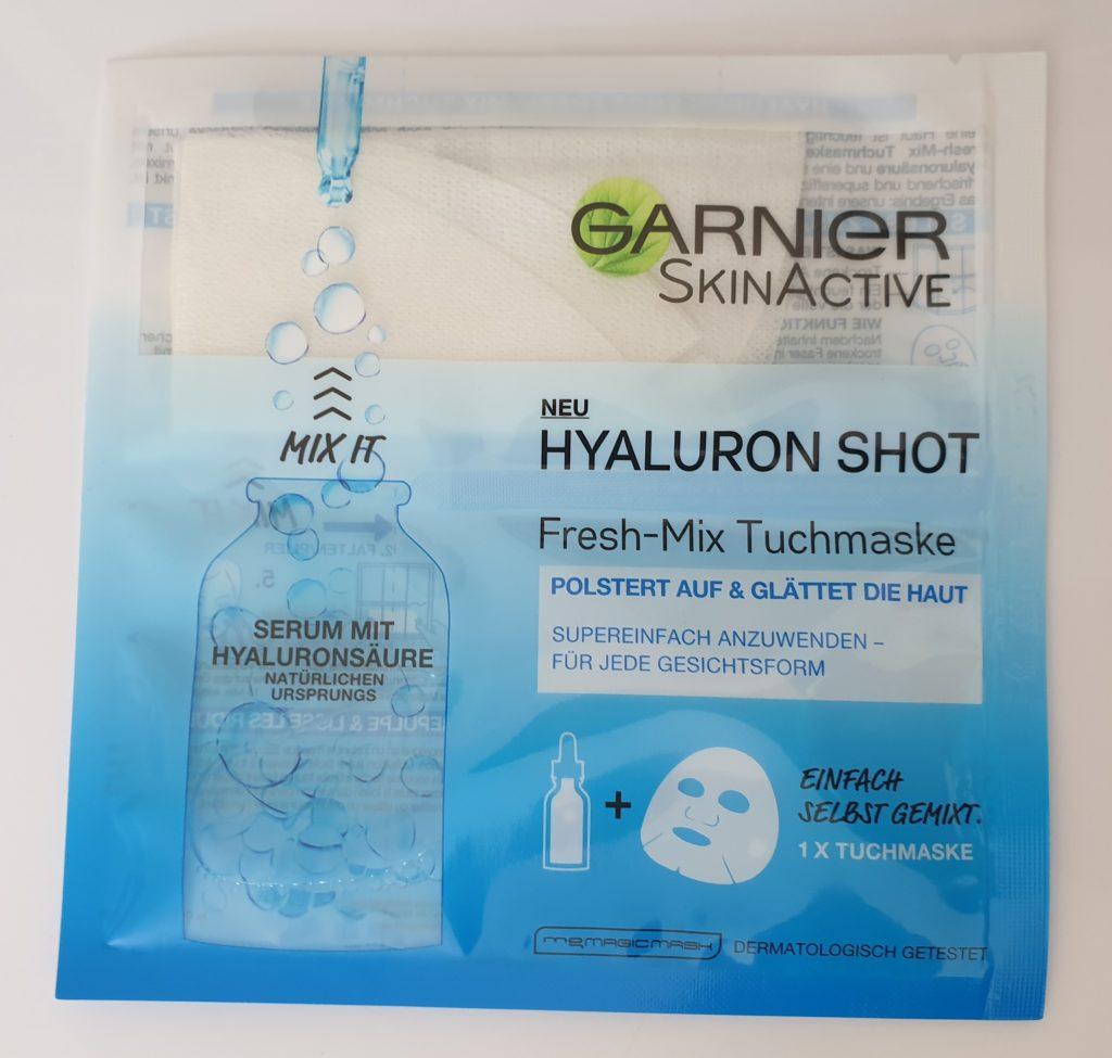 Garnier SkinActve Hyaluron Shot Fresh-Mix Tuchmaske - 33g - UVP 3,95 €