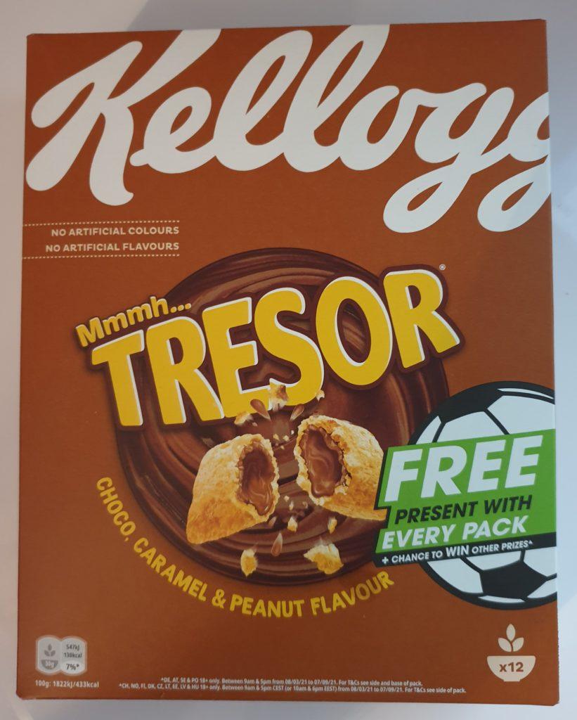 Kelloggs Tresor Choco Caramel und Peanut Flavour - 375 g - UVP 2,99 €