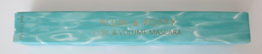 Plum & Ploppy Curl & Volume Mascara - 8 ml - UVP 15,00 €